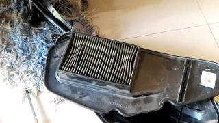 Cara cuci filter motor