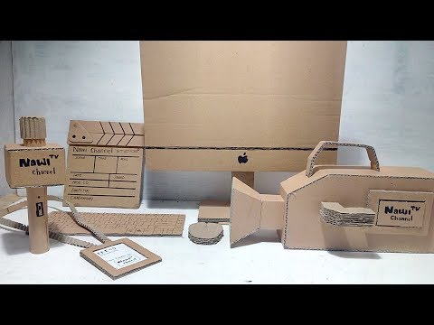 How To Make Equipment Filming Of Cardboard
