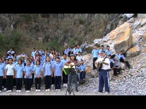 Come My Little Son [Thailand's Motorway] by Thai school children.