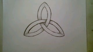 How To Draw Celtic Knot Ancient Symbol Impossible Shape Easy Step By Step Tutorial