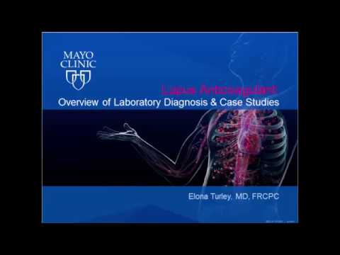 Lupus Anticoagulant: Overview Of Laboratory Diagnosis And Case Studies