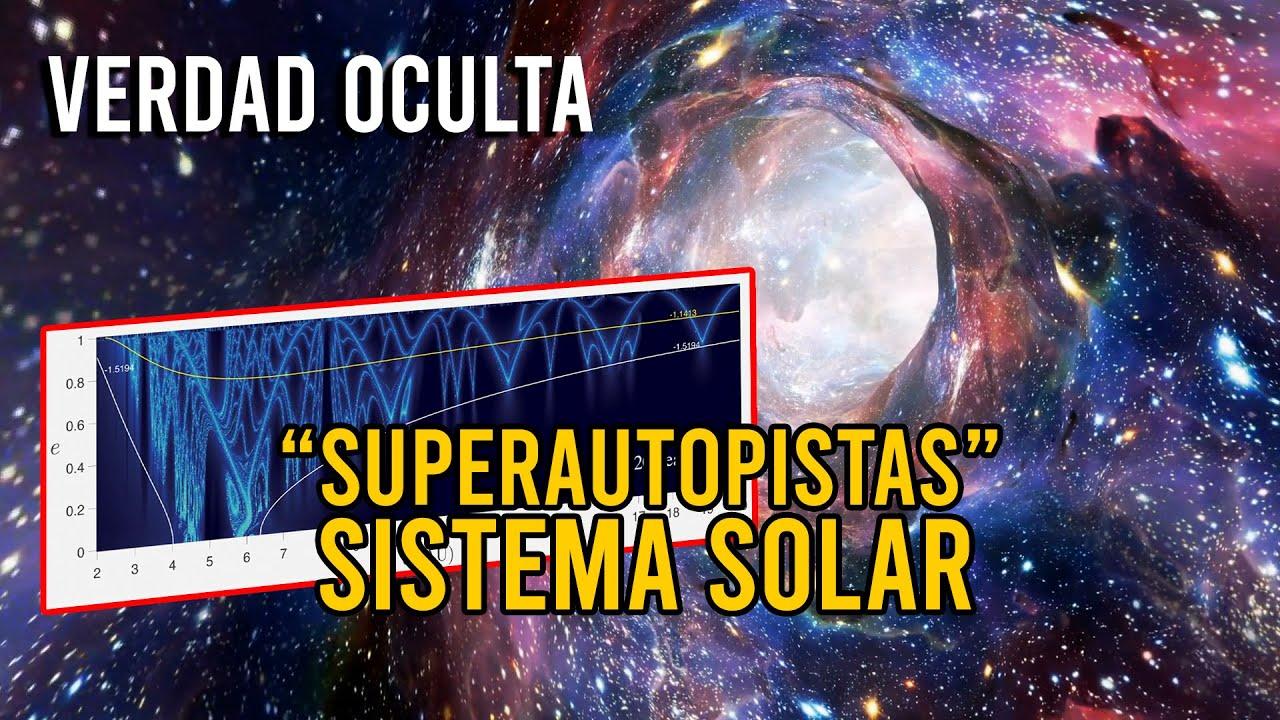 SUPERAUTOPISTAS DESCUBIERTAS EN EL SISTEMA SOLAR