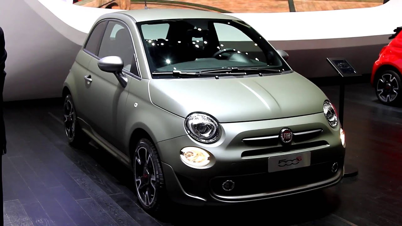 fiat 500 s geneva motor show 2016 youtube. Black Bedroom Furniture Sets. Home Design Ideas