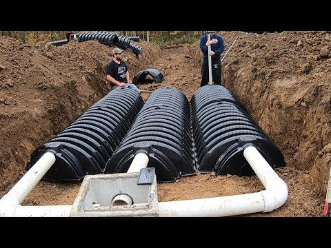 Diy Septic System Install Passed Inspection Infiltrator