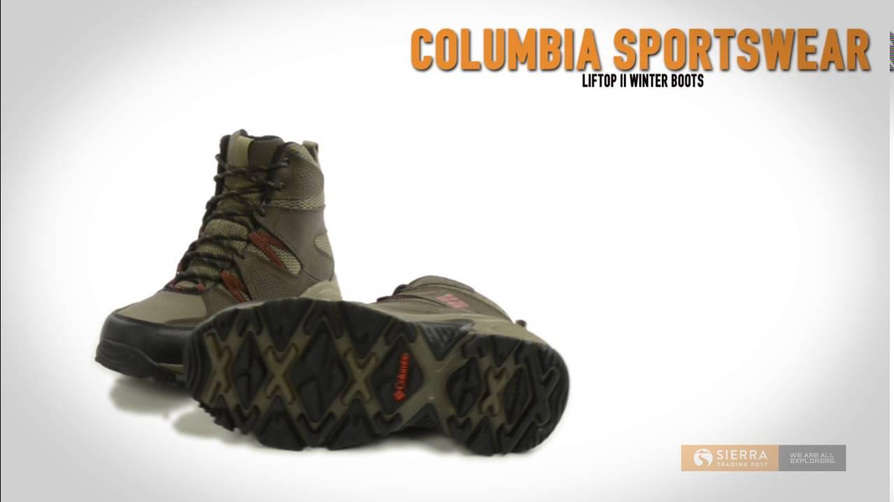 1097d89f8d0 Columbia Sportswear Liftop II Snow Boots - Waterproof (For Men)