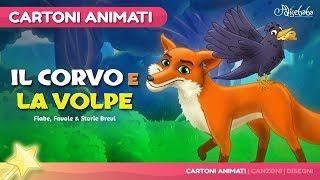 Il Corvo e la Volpe (The Fox and the Crow) Cartone Animati | Storie per Bambini