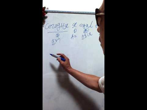 russian alphabet study  korean teacher