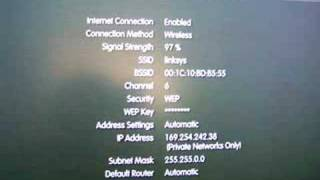 PS3 ip address failed timed out