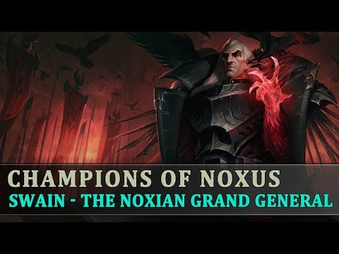 The Story Behind League Of Legends [Ep31] Swain - The Noxian Grand General