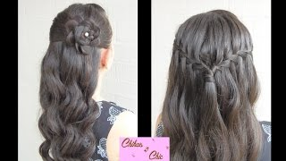 New Year's Eve!! Two Options | Prom Hairstyles | Half-up Half-down Hairstyles