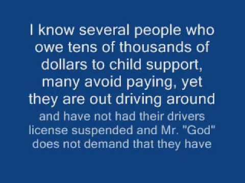 CHILD SUPPORT ENFORCEMENT IN MAINE - VERY UNFAIR - READ THIS!