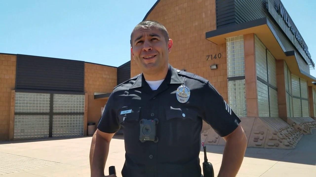 LAPD COPWATCH 1st amendment audit