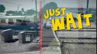 Rail Safe - thought you could beat the train??? thumbnail