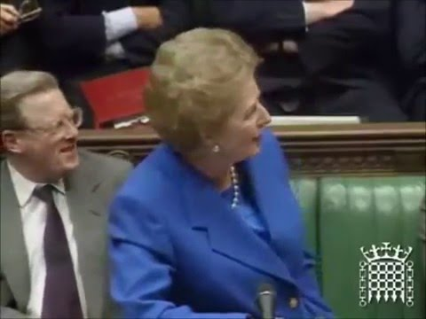 "Margaret Thatcher on Europe: ""No!  No! No!"""