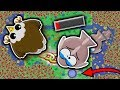 FLYING FISH GLITCH // MAKING OCEAN ANIMALS DROWN IN MID AIR (Mope.io funny moments)
