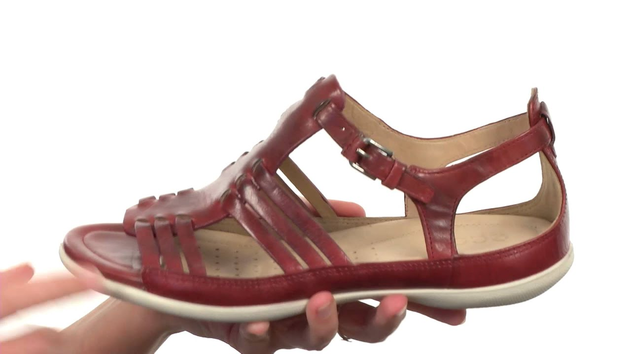 67e15feb3f4e ECCO Flash Huarache Sandal SKU 8264857 - YouTube