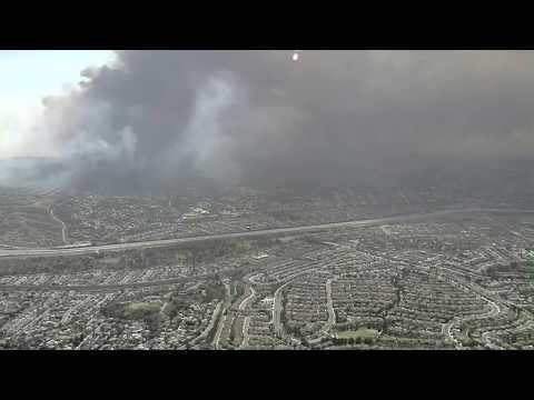 Smoke from Anaheim fire creates dangerous air quality