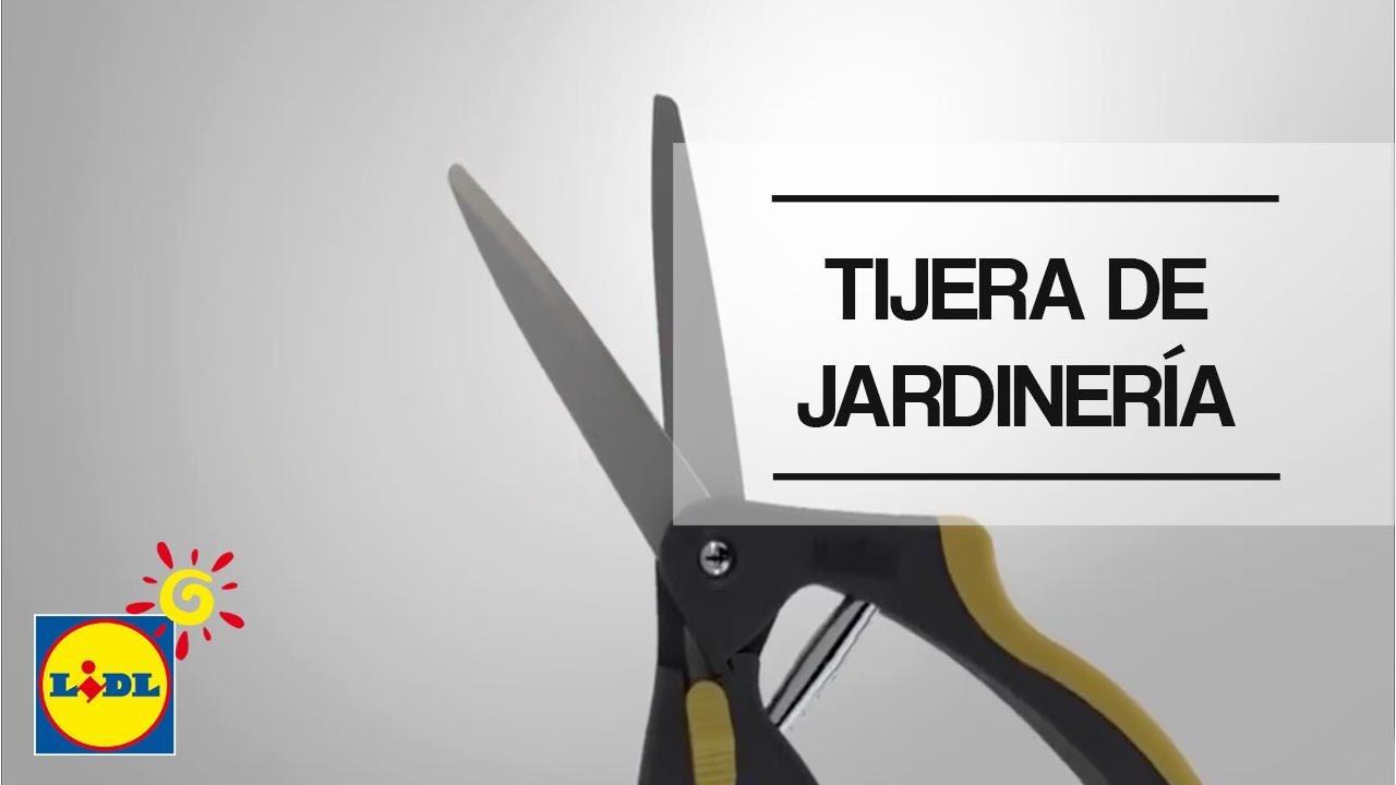 Tijera De Jardiner A Multiuso Lidl Espa A Youtube