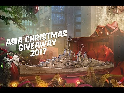 JAGS Christmas Giveaway | World of Warships Asia Giveaway