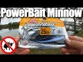 Fall Bass Fishing From the Bank - Fishing With a PowerBait Minnow