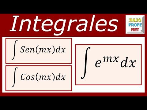 INTEGRACIÓN POR SUSTITUCIÓN - Ejercicios 1, 2 y 3
