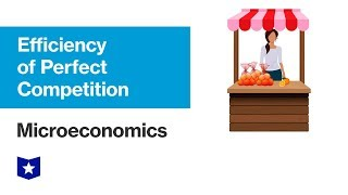 Efficiency of Perfect Competition | Microeconomics