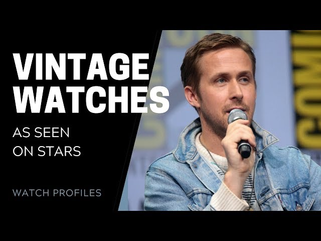 Rock Vintage Watches Like The Stars | SwissWatchExpo [Watch Collection]