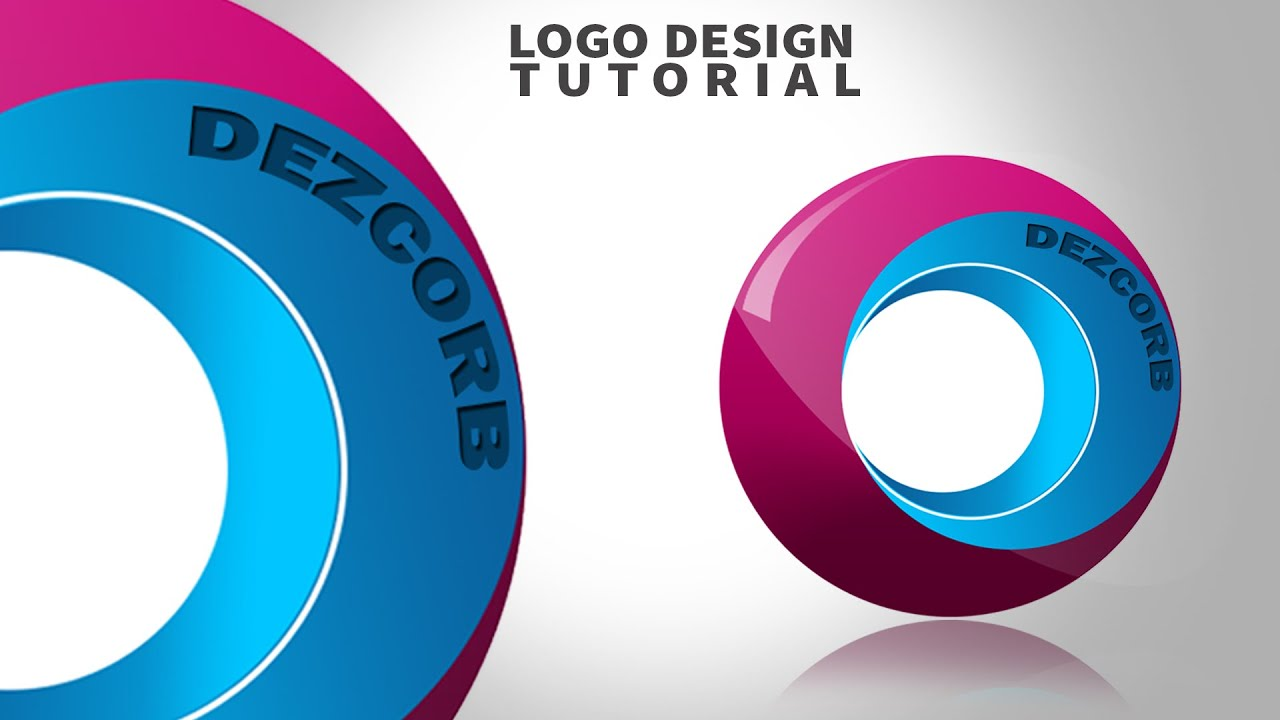 how to create logo in photoshop cs6 - YouTube