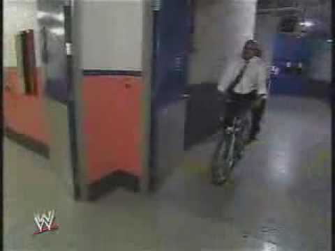 Hornswoggle Goes For A Little Bike Ride
