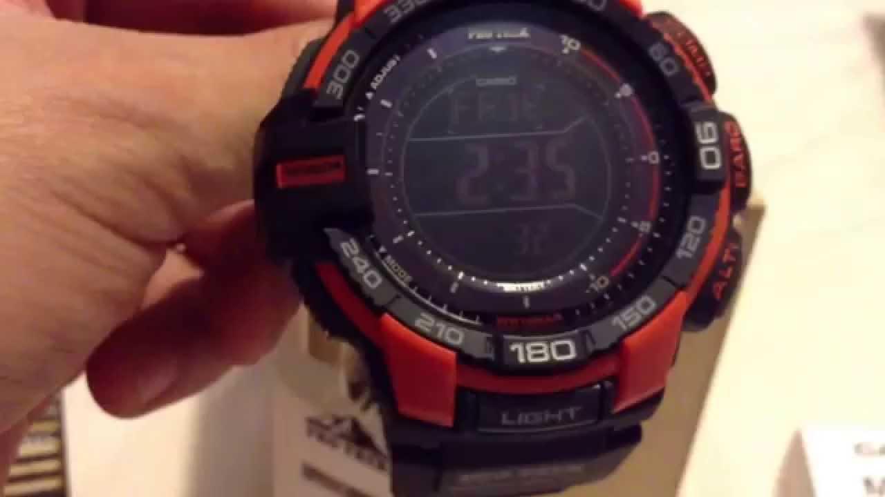 Reloj Casio ProTrek 3415