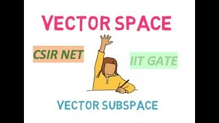 HOW TO CHECK SUBSPACES OF A VECTOR SPACE