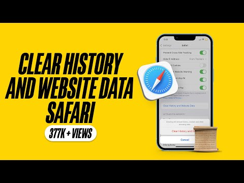 How to Clear History And Website Data in iOS 9 Safari on iPhone or iPad
