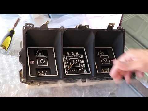 Ford F-100 Unboxing Dash Pad Cluster Lens And Gauge Bezel Upgrade