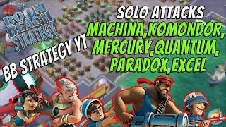 Boom Beach Strategy - Task Force Solo Special - Machina, Komondor, ...