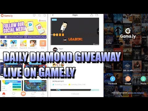 JOIN MY DAILY DIAMOND GIVEAWAY AT GAME.LY 💎