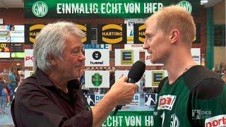 Interview nach dem Spiel GWD Minden - SC Magdeburg