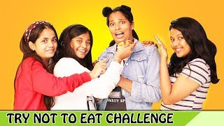 Try Not To Eat Challenge l #funny #challenge #fun l Ayu And Anu Twin Sisters