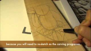 Sketching A Design For Wood Carving