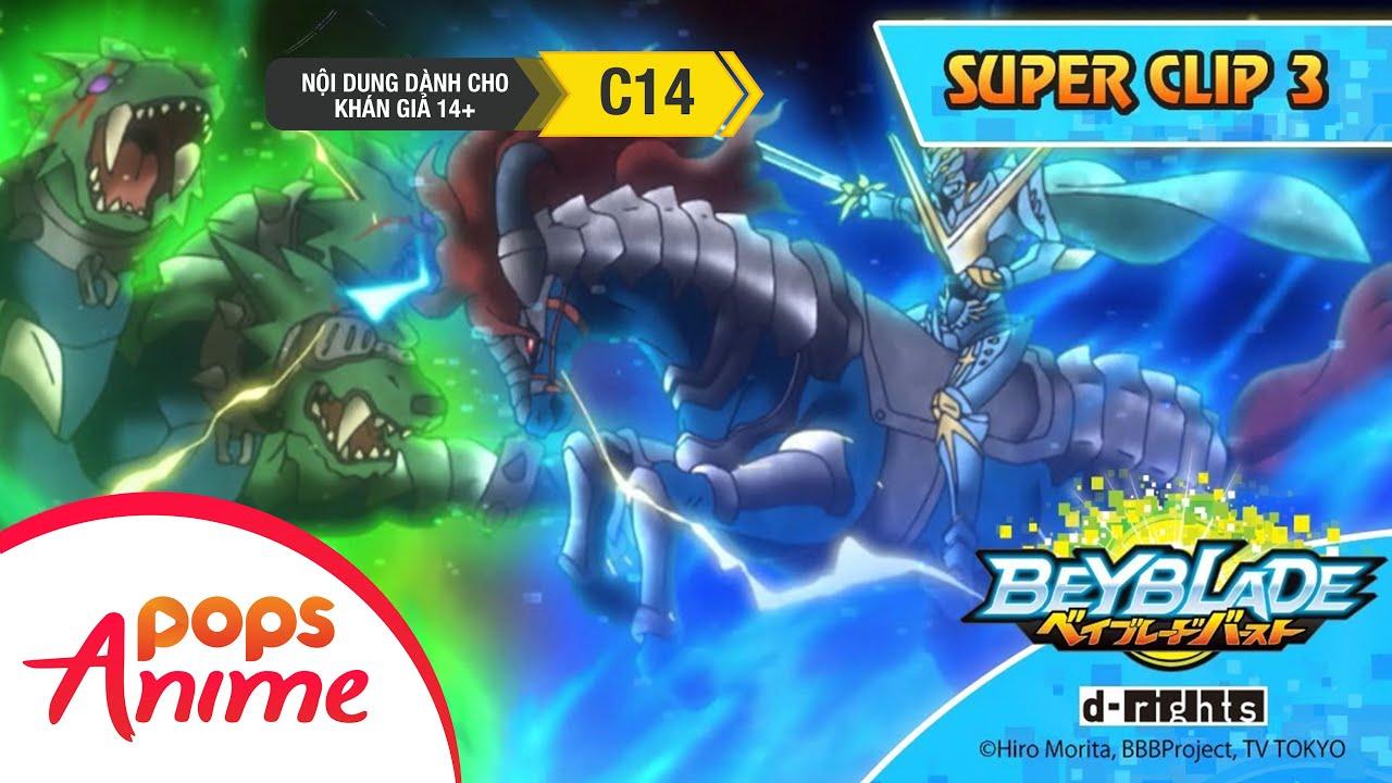 Beyblade Burst Super Clip Tập 3 - Phim Hoạt Hình Vòng Xoáy Thần Tốc