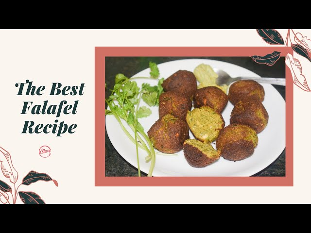 Falafel Recipe | How to Make Falafel at Home | Vegan Falafel
