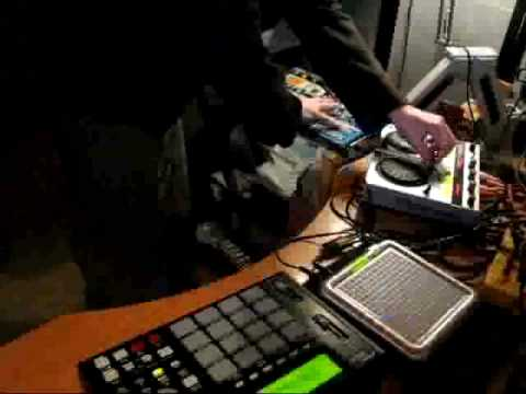 ARIA - tenori on techno jam #01 -  01/19/09