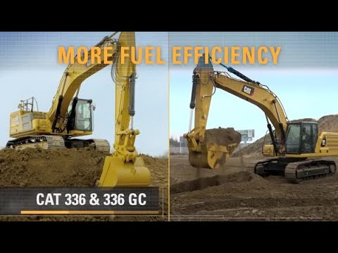 336 & 336 GC Next Generation Cat® Excavators – More Choices to Match Your  Work