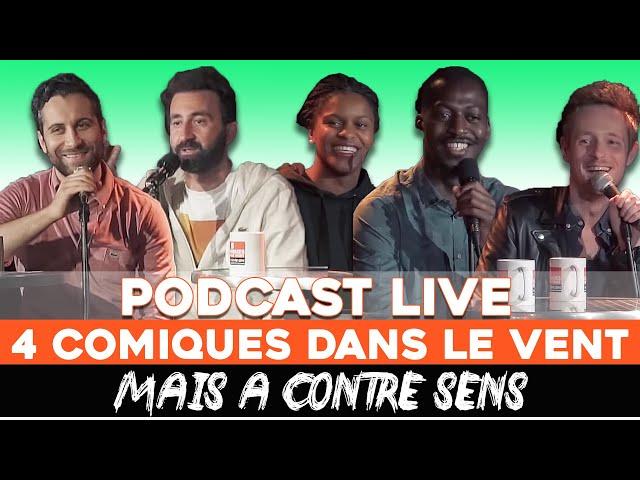 EP 4 - Mathieu Madenian, Fadily Camara, John Sulo, Adrien Arnoux, Seb Mellia - Podcast LIVE