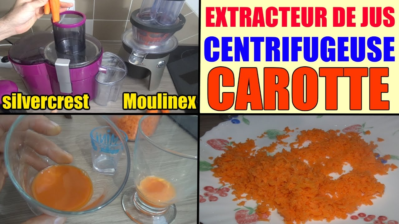 Thermomix Extracteur De Jus Centrifugeuse Silvercrest Lidl Extracteur De Jus Moulinex Infiny Press Test Carotte Comparatif