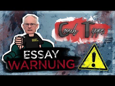 Essay-Warnung Für Das Abitur! - Couch Tipps