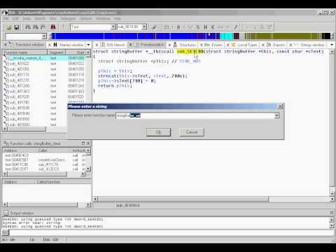 Real-world Decompilation with IDA Pro - Part 2: String Handling