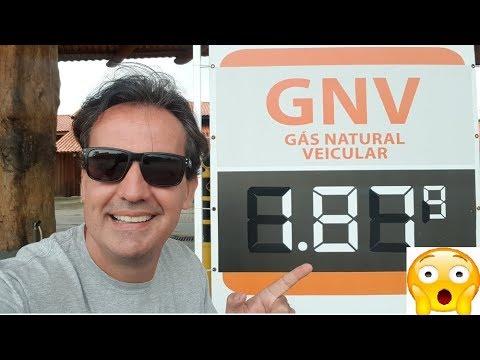 Abastecendo GNV a 1,87 TOP de MAIS. Super Economia no GNV.