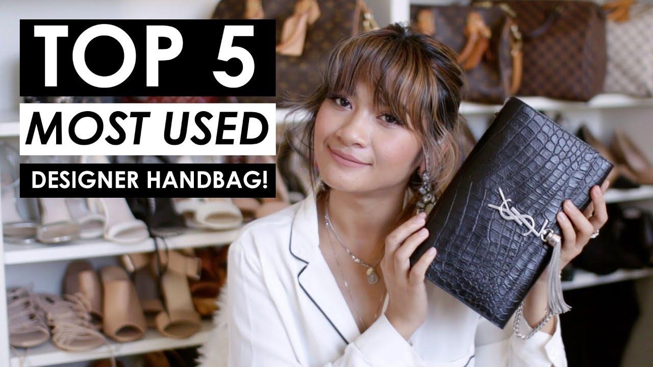 Top 5 Most Used Designer Handbags Styling Shots