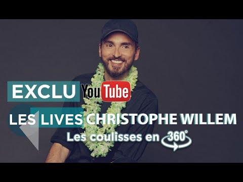 Les répet' de Christophe Willem en Live 360°