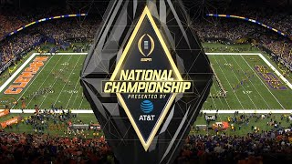 2020 NCAA CFB | ESPN College Football Playoff National Championship Intro/Theme